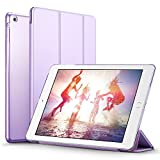 iPad Mini Case, iPad Mini 3 Case, iPad Mini 2 Case, ESR Yippee Color Series Smart Cover+Transparent Back Cover [Ultra Slim] [Light Weight] [Scratch-Resistant Lining] [Perfect Fit] [Auto Wake Up/Sleep Function] for iPad mini 3/2/1 (Fragrant Lavender)