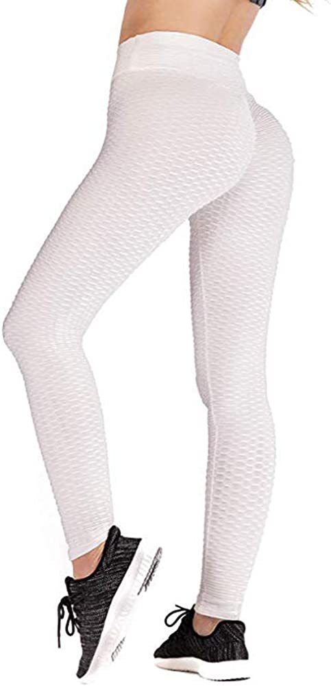 Leggings a Compressione Anticellulite Yoga Pant Butt Lift Up Leggings Elastici Abiti Eleganti Festivo di Moda