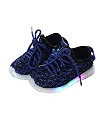 Led Luminous Shoes for Boys Girls Fashion Light up Casual Kids Glowing Children Sneakers