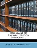 Répertoire de l'Administration Municipale, , 1277330220