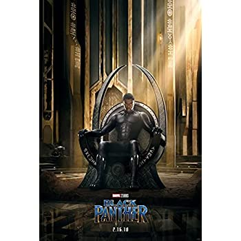Amazon.com: Black Panther - Framed Marvel Movie Poster ...
