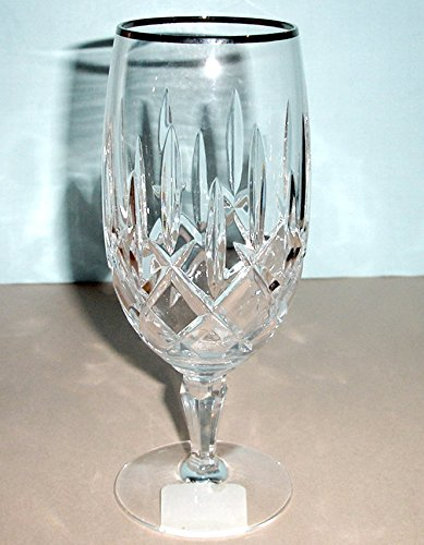 Gorham Lady Anne Platinum Iced Beverage Glass Crystal Made In Germany NEW
