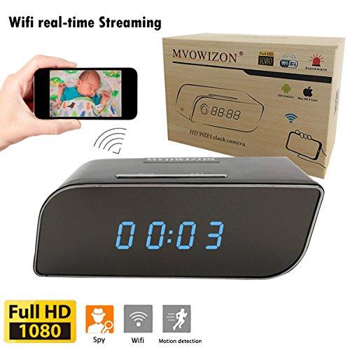MVOWIZON Spy Camera Alarm Clock with Camera M1