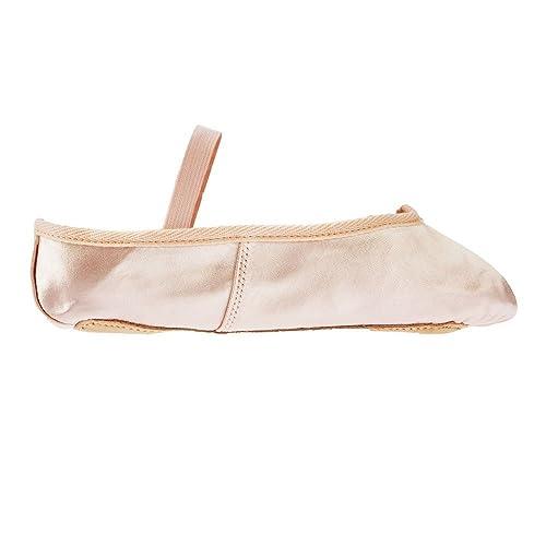 Pink Basic Satin Ballet Shoes