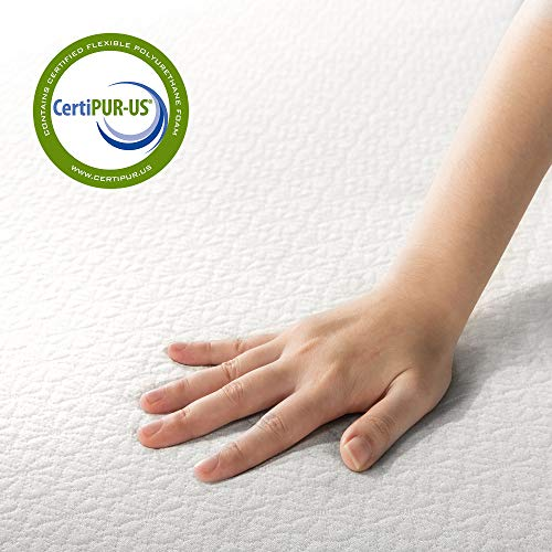 Zinus Green Tea Mattress, Full, White