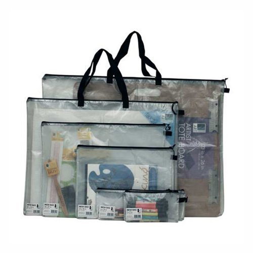 Art Alternatives Vinyl Mesh Bag 20X26 W/Handle ()