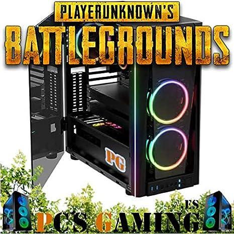 PC Gaming RGB Intel I3 8100 A 3,6 GHz NVIDIA GTX1050 TI 4GB 8GB RAM