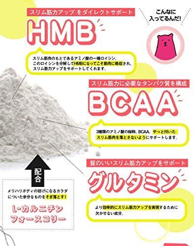 ボディ メイク プログラム hmb