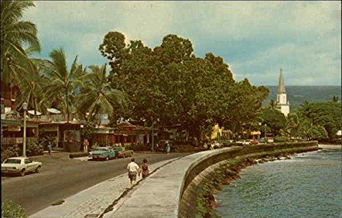 World Famous Alii Drive Kona, Hawaii Original Vintage - Drive Alii