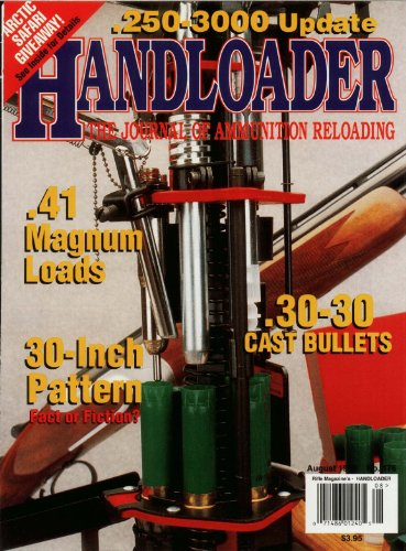 Handloader Magazine - August 1995 - Issue Number 176