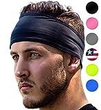 Sports Headband: UNISEX Fitness Headbands For Women & Men. Head Band Sweatband