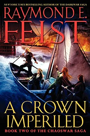book cover of A Crown Imperilled
