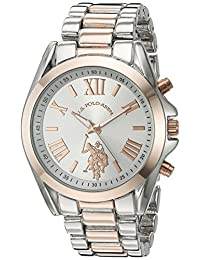 U.S. Polo Assn. Women's Quartz Metal and Alloy Casual Watch, Color:Two Tone (Model: USC40118)