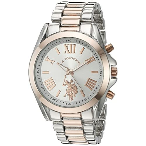 U.S. Polo Assn. Women's Quartz Metal and Alloy Casual...