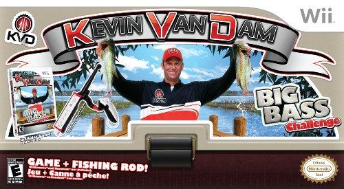 Kevin VanDam's Big Bass Challenge - Nintendo Wii (Fishing Rod Bundle)