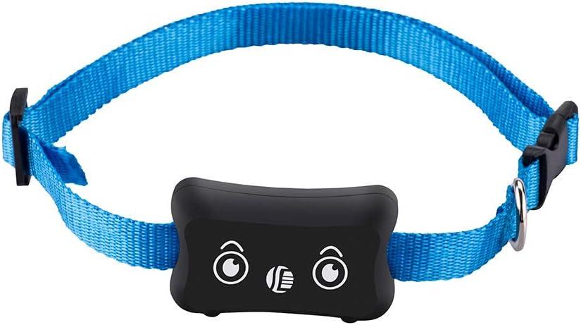 KKmoon Rastreador GPS Perros GPS Localizador Collar Ajustable para Perros Impermeable para Teléfono Android/IOS