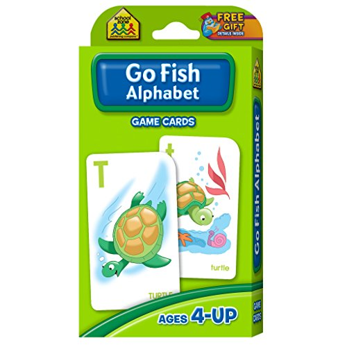 Go Fish Alphabet Game Cards (Fish For Kids)