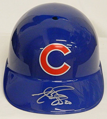 Matt Szczur Signed Chicago Cubs Replica Batting Helmet - Certified Authentic (Mlb Replica Collectibles)
