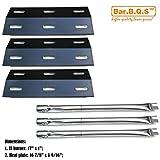 Bar.B.Q.S Ducane Gas Barbecue Grill 3100 - 3200 - 3400 - 30400040 Replacement Burners & Heat Plates (Repair Kit)