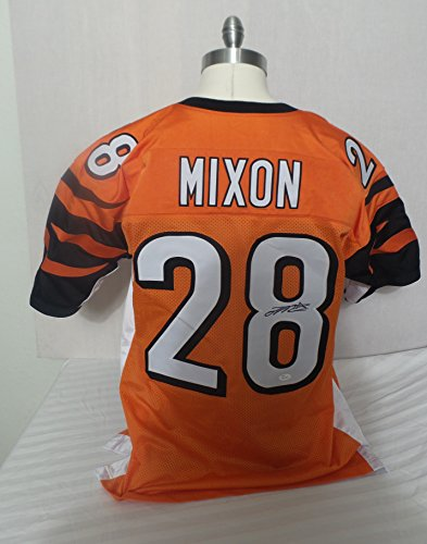 Joe Mixon Signed Cincinnati Bengals Orange Autographed Jersey JSA Cincinnati Bengals Autographed Jerseys