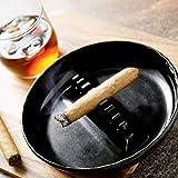ALAZCO Set of 4 Round Plastic Cigarette Cigar
