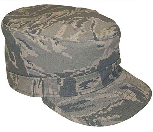 Genuine Issue US Airforce ABU Digital Camo Tiger Stripe Twill Utility Cap, Utility/Patrol, Size 7 3/8 - Abu Cap