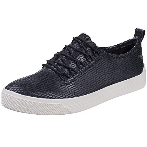 Hush Trainer Gabbie Womens Fashion Ladies Shoes Lace Up Negro Puppies Casual 7A7qrwB