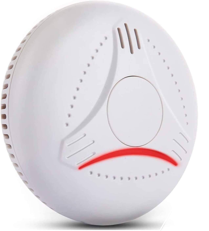 Sendowtek Alarma de Humo con Sensores y Detectores de Seguridad y Prevenci/ón Contra Incendios para Hogar Garaje Dormitorio Escuela Detectores de Humo Combinados