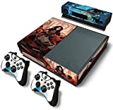 ModFreakz™ Console/Controller Vinyl Skin Set – Woman Anime Warrior for Xbox One Original For Sale