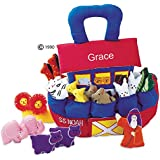 Noah's Ark Playset for Toddlers By Pockets Of Learning - Personalized Version