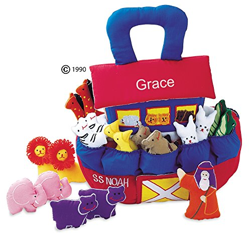 Noahs Ark Plush (Noah's Ark Playset for Toddlers By Pockets Of Learning - Personalized Version)