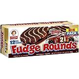 Little Debbie Fudge Rounds 24.1 Oz (3 Boxes)