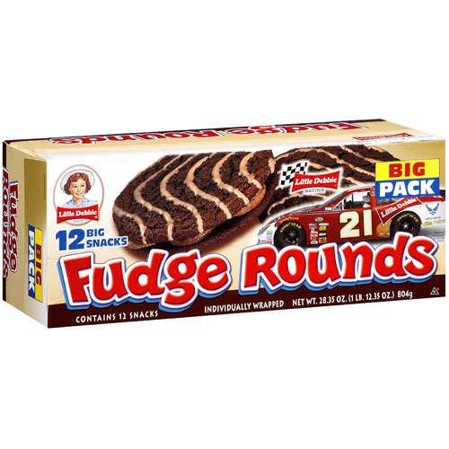 Little Debbie Fudge Rounds 24.1 Oz (3 Boxes) by Little Debbie