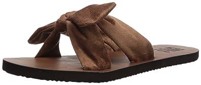 7445ee926 Amazon.com  Billabong Women s Tied Up Flat Sandal  Shoes