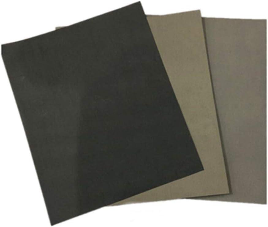 Vidoepup hoch Sandpaper Wet trocken Classification 3000 5000 7000 Grit Kit 9X11 Zoll für Automotive Polishing, Holz Furniture Finishing und Metal,Plastic, Paint, Stainless Steel Sanding (9 Pcs)