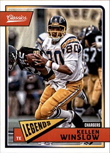 2018 Classics Football #187 Kellen Winslow San Diego Chargers Legend Panini NFL Card