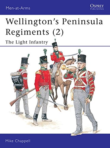 Wellington's Peninsula Regiments  2   The Light Infantry  Men At Arms Band 400