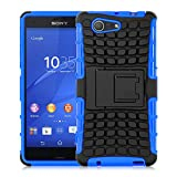Xperia Z3 Compact Case - ALLIGATOR Heavy Duty Rugged Back Cover for Sony Xperia Z3 Compact, Blue