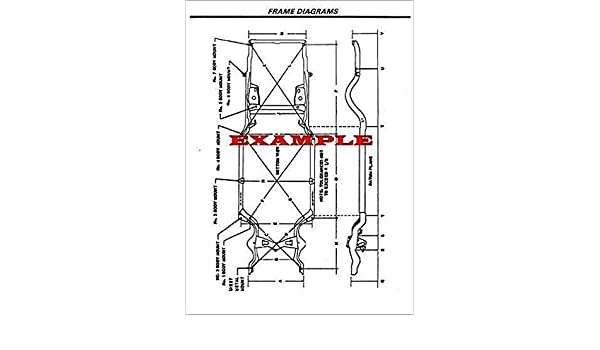 1964 dodge dart wiring diagram amazon com laminated frame dimensions diagram compatible with  laminated frame dimensions diagram