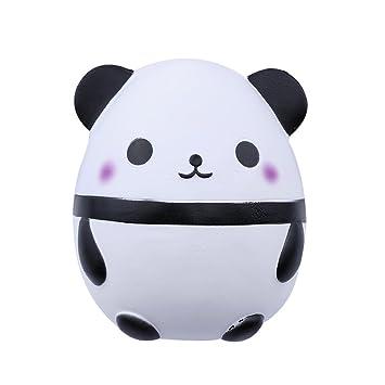 Wuudi Juguete De Simulación De Muñeca De Panda De Dibujos Animados