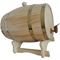 Gazechimp Barril con Grifo de Madera para Cerveza