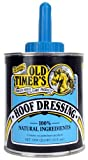 Old Timer's Hoof Dressing is a 100 year-old Amish recipe of carefully blended all-natural ingredients that provides superior penetration into the hoof wall to treat and prevent splitting and cracking. Enhances hooves natural beauty while keep...