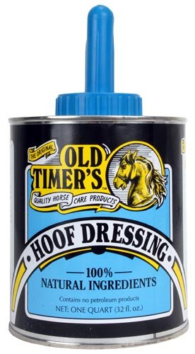 The Original Old Timer's Hoof Dressing Quality Horse Care Products Natural Ingredients Prevents Cracking and Splitting by Healthy Hair Care Products