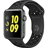 Apple Watch Series 2 Nike+ 38mm Space Gray Aluminum Case Anthracite/Black Nike Sport Band (Certified Refurbished)
