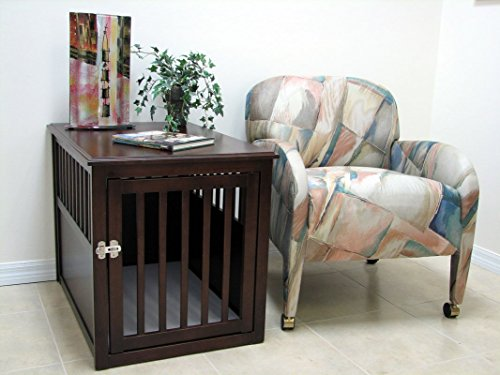 Crown Pet Products Wooden Pet Crate/End Table