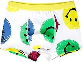 YUTING Boys 4 Pack Boxer Briefs Comfortable Cotton Short Toddler Underwear Set