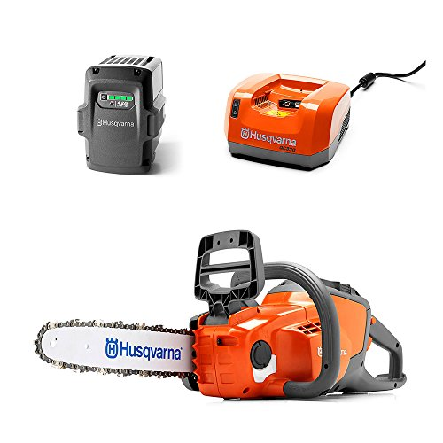 Husqvarna 36V Chainsaw + 36-Volt 4.2 Ah Lithium-Ion Battery