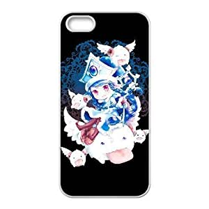 Generic for iPhone 4 4s Cell Phone Case White Lulu Custom HSKDKKALL4589