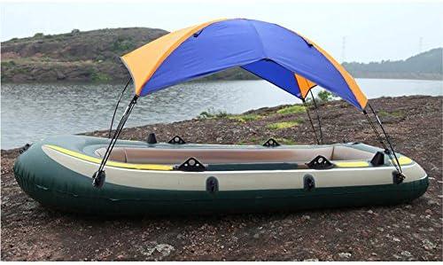Inflatable Fishing Boat Shelter Kayak Sun Shade Rain Kit Sail Awning Top Cover