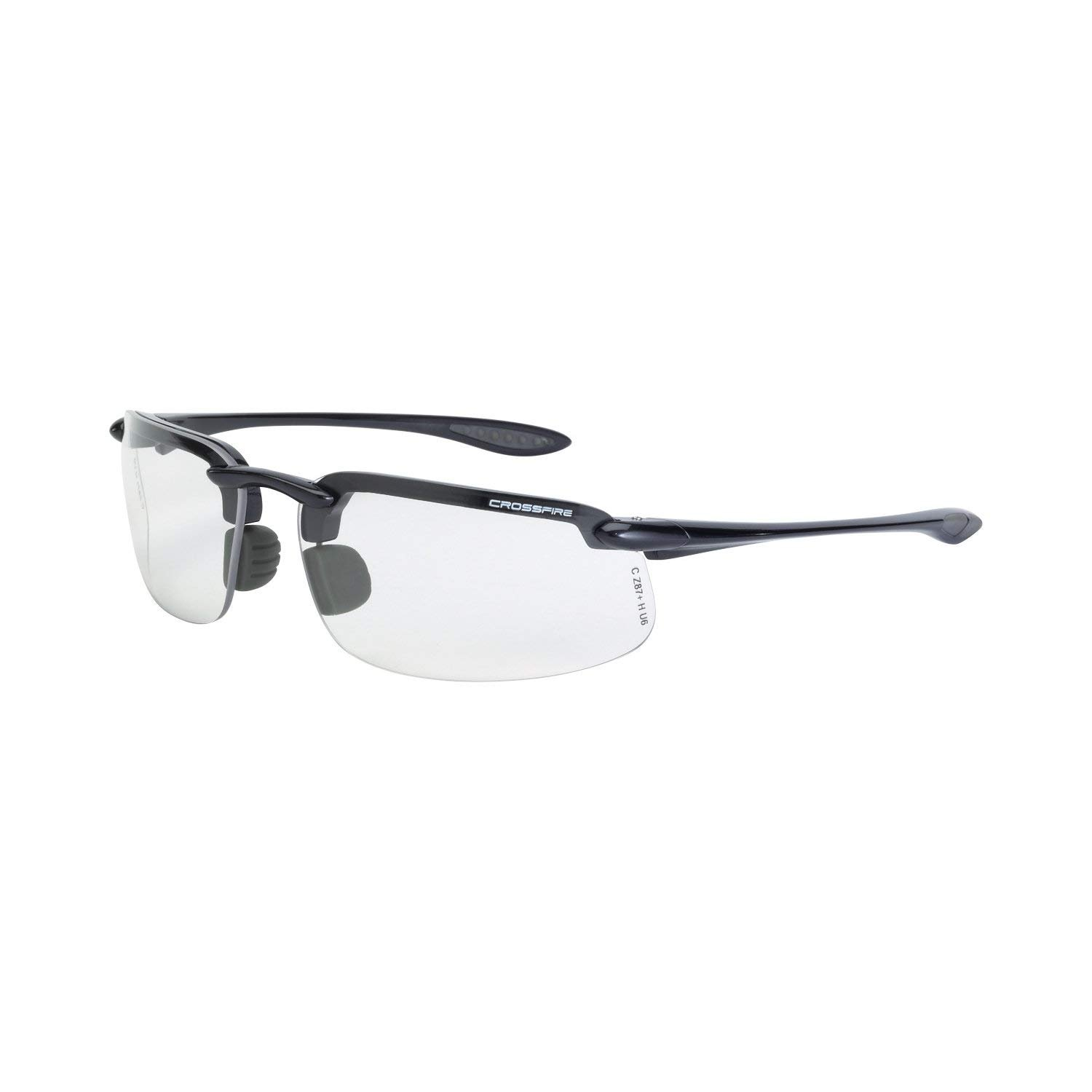 7cc349bf2b Crossfire Eyewear 2164 ES4 Safety Glasses Clear Lens - Hunting Safety  Glasses - Amazon.com